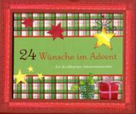 24 adventsw nsche ein gru karten adventskalender. Black Bedroom Furniture Sets. Home Design Ideas